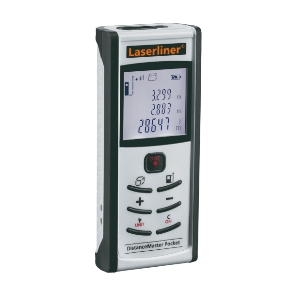 DistanceMaster Pocket laser distance meter
